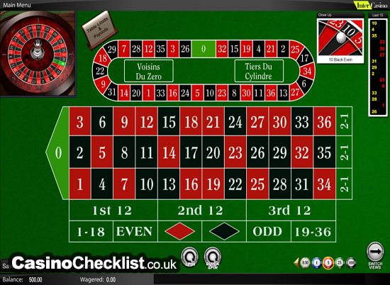 top online casinos roulette