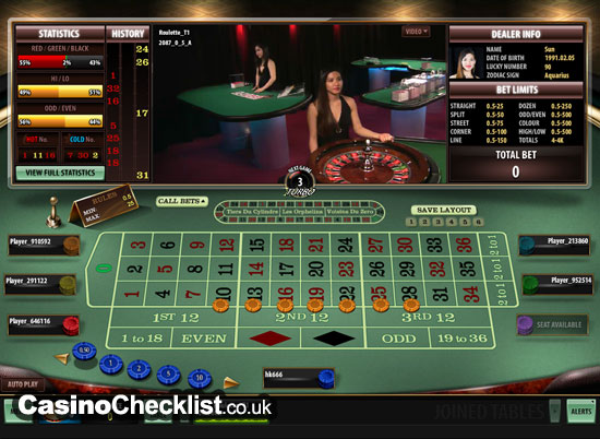 live casino online uk
